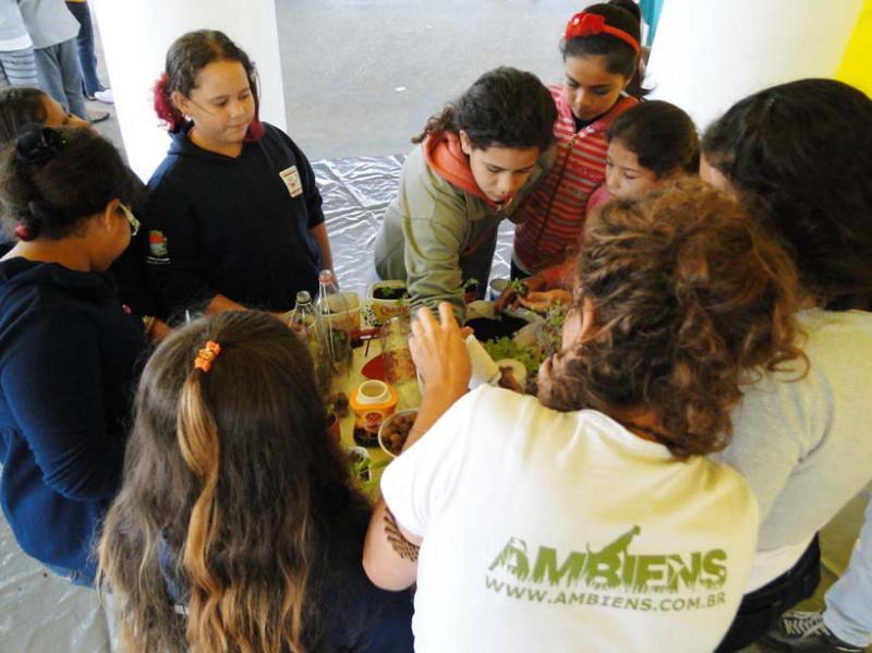 Treinamento educação ambiental