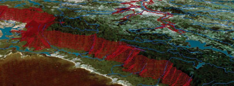 Geoprocessamento topografia
